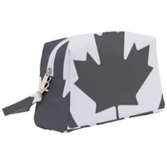 Roundel Of Canadian Air Force - Low Visibility Wristlet Pouch Bag (large)