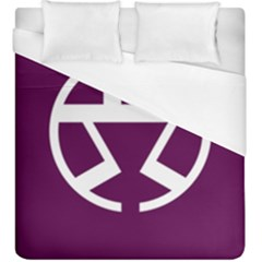 Flag Of Shibuya Duvet Cover (king Size)