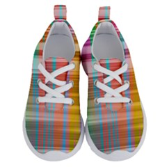 Abstract Color Running Shoes