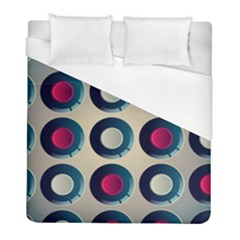 Background Colorful Abstract Duvet Cover (full/ Double Size) by HermanTelo