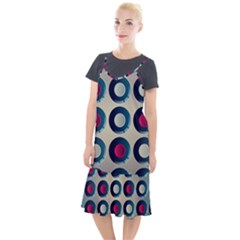 Background Colorful Abstract Camis Fishtail Dress