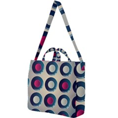 Background Colorful Abstract Square Shoulder Tote Bag by HermanTelo