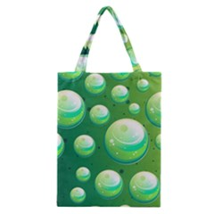 Background Colorful Abstract Circle Classic Tote Bag by HermanTelo