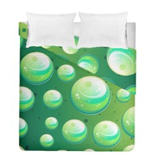 Background Colorful Abstract Circle Duvet Cover Double Side (full/ Double Size)