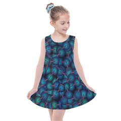 Background Abstract Textile Design Kids  Summer Dress by HermanTelo