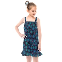 Background Abstract Textile Design Kids  Overall Dress