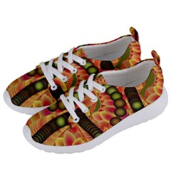 Abstract Background Digital Green Women s Lightweight Sports Shoes by HermanTelo