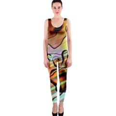 Abstract Transparent Drawing One Piece Catsuit by HermanTelo