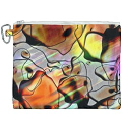 Abstract Transparent Drawing Canvas Cosmetic Bag (xxxl)