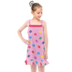 Cupcakes Food Dessert Celebration Kids  Overall Dress by HermanTelo
