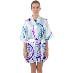 Star Quarter Sleeve Kimono Robe by HermanTelo
