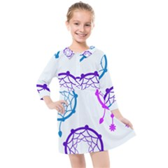 Star Kids  Quarter Sleeve Shirt Dress