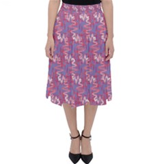 Pattern Abstract Squiggles Gliftex Classic Midi Skirt
