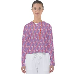 Pattern Abstract Squiggles Gliftex Women s Slouchy Sweat by HermanTelo