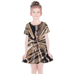 Music Clef Tones Kids  Simple Cotton Dress by HermanTelo