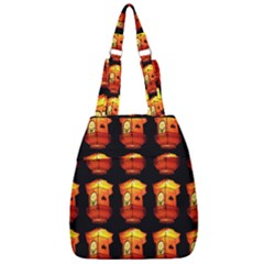Paper Lantern Chinese Celebration Center Zip Backpack