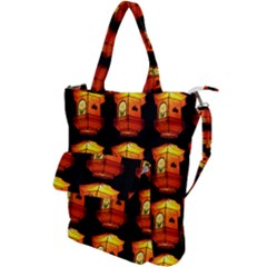 Paper Lantern Chinese Celebration Shoulder Tote Bag by HermanTelo