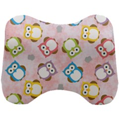 Owl Bird Cute Pattern Background Head Support Cushion