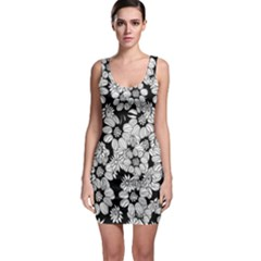 Mandala Calming Coloring Page Bodycon Dress by HermanTelo