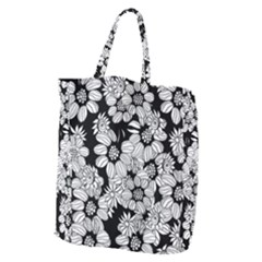 Mandala Calming Coloring Page Giant Grocery Tote