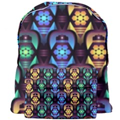 Pattern Background Bright Blue Giant Full Print Backpack by HermanTelo