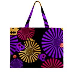 Seamless Halloween Day Dead Mini Tote Bag by HermanTelo