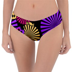 Seamless Halloween Day Dead Reversible Classic Bikini Bottoms by HermanTelo
