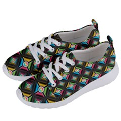 Pattern Pastels Background Women s Lightweight Sports Shoes by HermanTelo