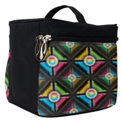 Pattern Pastels Background Make Up Travel Bag (small)