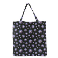 Seamless Pattern Background Circle Grocery Tote Bag