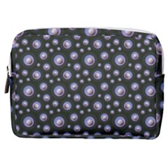 Seamless Pattern Background Circle Make Up Pouch (medium)