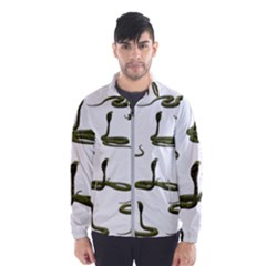 Snake Cobra Reptile Poisonous Men s Windbreaker