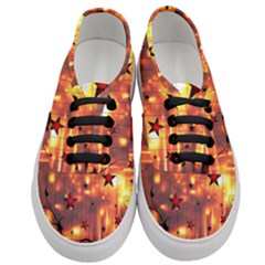 Star Radio Light Effects Magic Women s Classic Low Top Sneakers