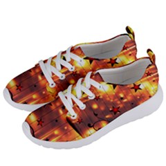 Star Radio Light Effects Magic Women s Lightweight Sports Shoes by HermanTelo