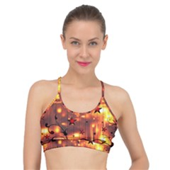 Star Radio Light Effects Magic Basic Training Sports Bra by HermanTelo