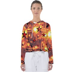 Star Radio Light Effects Magic Women s Slouchy Sweat by HermanTelo