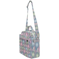 Seamless Pattern Pastels Background Crossbody Day Bag