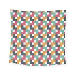 Abstract Geometric Square Tapestry (small) by HermanTelo