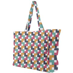Abstract Geometric Simple Shoulder Bag