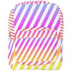 Abstract Lines Mockup Oblique Full Print Backpack