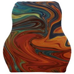 Abstract Art Pattern Car Seat Velour Cushion