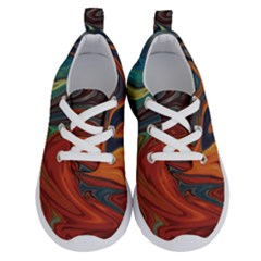 Abstract Art Pattern Running Shoes by HermanTelo