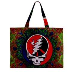 Grateful Dead Zipper Mini Tote Bag by Sapixe