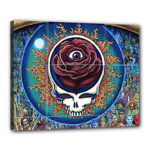 Grateful Dead Ahead Of Their Time Canvas 20  X 16  (stretched)