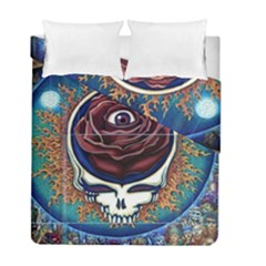 Grateful Dead Ahead Of Their Time Duvet Cover Double Side (full/ Double Size) by Sapixe