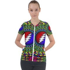 Grateful Dead Short Sleeve Zip Up Jacket