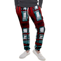Abstract Color Background Form Men s Jogger Sweatpants