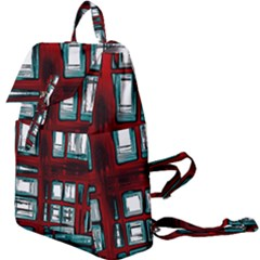 Abstract Color Background Form Buckle Everyday Backpack