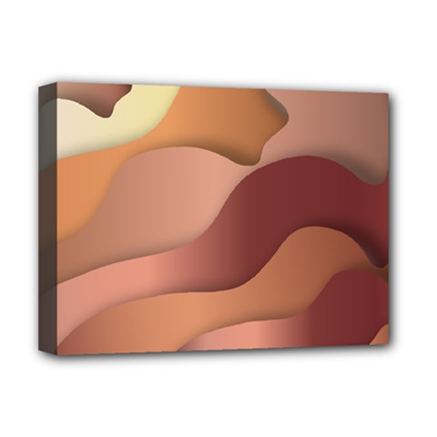 Autumn Copper Gradients Deluxe Canvas 16  X 12  (stretched)