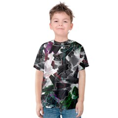Abstract Science Fiction Kids  Cotton Tee